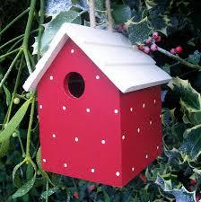Birdhouse Handmade Bird House By The Painted Broom Company