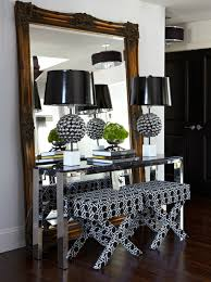 mirror and table for foyer. chrome console table mirror and for foyer r