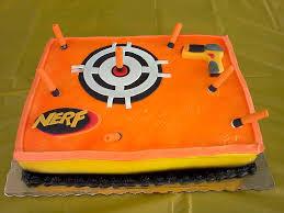 Nerf Gun Cake nerf gun cake Gina Choo Quan