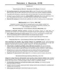 Cfo Resume Template Inspiration Cfo Resume Samples Download Resume Sample Cfo Resume Sample Word