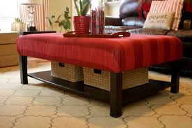 ottoman coffee table ikea lovely 15 diy ikea lack table makeovers you can try at home