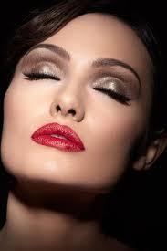 glamorous makeup look