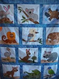 Australian animals quilt | Quilts: Cotton (Pieced, Appliqued, Etc ... & Beryl's original quilt - pattern for sale soon! Adamdwight.com