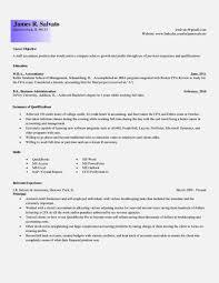 Cpa Candidate Resume Examples Eliolera Com