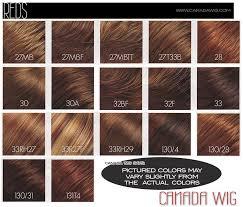 Jon Renau And Easihair Colorcharts Canada Wigs