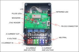 electric meter wiring diagram wiring diagram schematics 3phase 3 wire energy meter circuit diagram 3 phase power