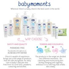 Chicco presents baby moments, the new complete line of products to take care of your baby's sensitive and sensitive skin every day. Chicco Baby Moments No Tears Bath Shampoo