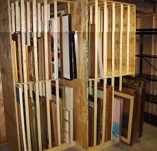 photos of painting storage racks