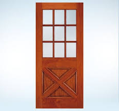 jeld wen custom wood glass panel exterior door