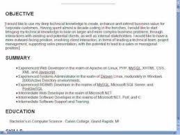 Download Good Resume Objectives Samples | designsid.com
