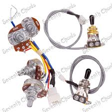 wiring harness guitar promotion shop for promotional wiring Wiring Harness Guitar a set plug in type guitar wiring harness prewired for lp electric guitar 2 volume &2 tone 4pcs 500k big pots 3 way toggle switch wiring harness guitar gibson es-137