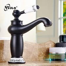 Senarai Harga Bathroom Black Basin Faucet Vintage Kitchen Sink Tap