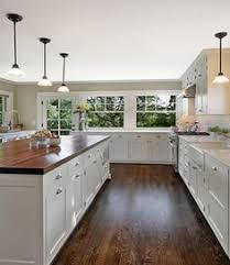 white shaker cabinets butcher block. butcher block countertop on white shaker cabinet - google search cabinets i