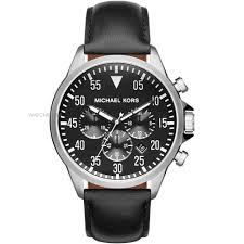 "men s michael kors gage chronograph watch mk8442 watch shop comâ""¢ mens michael kors gage chronograph watch mk8442"