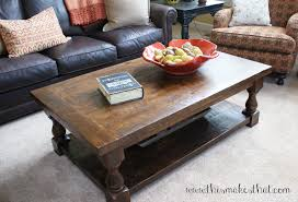 Shanty 2 Chic Coffee Table Pottery Barn Inspired Coffee Table This Makes That