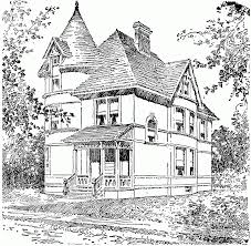 Small Picture New Coloring Page Victorian House Coloring Pages AZ Coloring