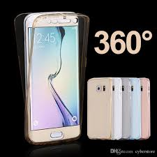 samsung galaxy s5 white used. for samsung galaxy s7 edge s6 s5 a310 a510 a710 ultra thin 360 degree full front back soft clear transparent tpu case cover white used