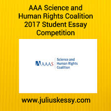 aaas science and human rights coalition student essay competition