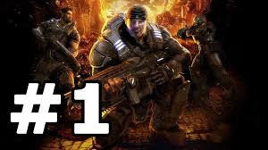Video Gears Gears Of War Walkthrough Part 1 No Commentary Playthrough Xbox