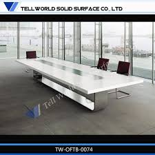 Appealing Marble Conference Table Office Meeting Furniture Marble Corian Table Top