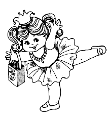 Small Picture Ballerina Coloring Pages Bestofcoloringcom