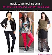 back to school special where to for junior plus size clothes