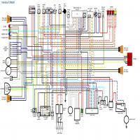 diagrama yamaha fzr600 diagrama eléctrico wiring diagram yamaha fzr600