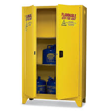 Yellow Flammable Cabinet Eagle 4510legs Tower Safety Cabinet For Flammable Liquids 2 Door