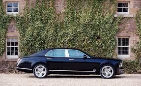 2012 Geneva Auto Show: the Bentley Mulsanne Mulliner Specification ...