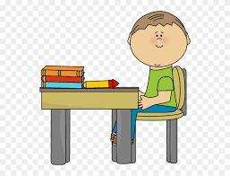 student desk clipart. Plain Clipart Clean Student Desk Clipart  Clip Art Inside