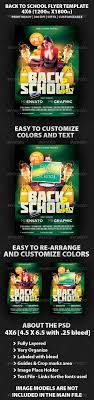 back to school party flyer template by mikkool graphicriver back to school party flyer template holidays events