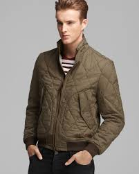burberry allanson quilted jacket for men lyst burberry brit howe quilted jacket in