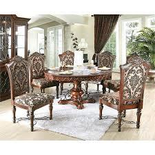 7 piece round dining set furniture of 7 piece round dining set in brown cherry 7