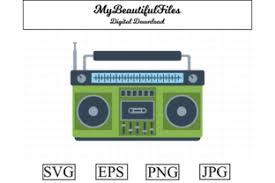Audio, cassette, multimedia, music svg vector icon. Tape Recorder Clipart Illustration Graphic By Mybeautifulfiles Creative Fabrica