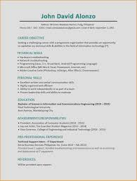 Word Resume Layout List Certifications On Resume Resume Samples Word Sample Cv