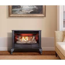 ventless gas fireplace procom dual fuel stove 25000 btu qd250t ventless gas fireplace reviews