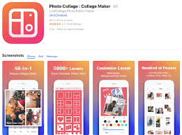 photo collage photo editing app