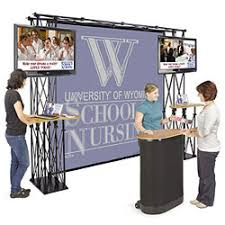 Free Standing Display Boards For Trade Shows Product Displays Retail Fixtures Point of Purchase Trade Show 85
