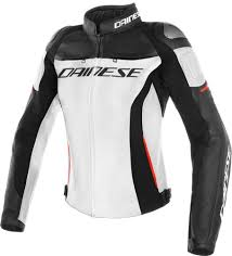 dainese racing 3 las motorcycle leather jacket women s clothing jackets white black red