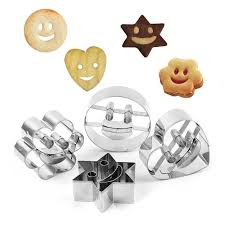 Biscuit Size Chart Details About 4pcs Emoji Stainless Steel Biscuit Cookie Cutter Cake Decor Baking Mold Set