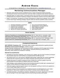 Joblers The Marcom Strategy Template Australian Resume Joblers