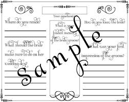 diy wedding guest book template diy wedding guest book template image collections templates on thank you