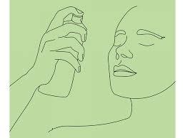 <b>Спрей</b>-фиксатор макияжа: для чего, как использовать и наносить?