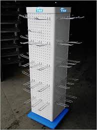 Steel Stands For Display Metal Hook Display Standsrotating Four Sides Perforated Steel 13