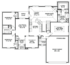 4 bedroom house plans one story 5 bedroom house plans one story fresh cool 1 story