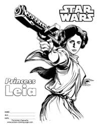 Small Picture Princess leia star wars coloring pages 8 Nice Coloring Pages for