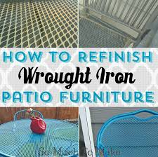 outdoor furniture restoration. Perfect Furniture Reward Outdoor Furniture Restoration How To Refinish Wrought Iron Patio So  Much Make