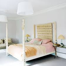 master bedroom white furniture. White Master Bedroom With Four-poster Bed, Walls And Deep-pile Furniture O