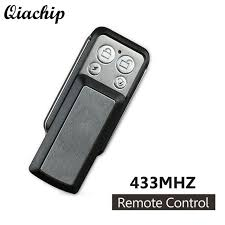 qiachip wireless 433mhz dc 12v copy transmitter cloning garage door opener relay receiver module key fob remote control switch