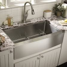 Granite Single Bowl Kitchen Sink Kitchen White Granite Kitchen Countertops With Grey Metal Chrome